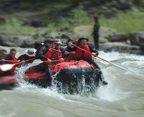 Going down on Snake River
