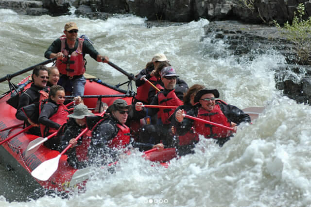8 mile whitewater trip with Jackson Hole Whitewater