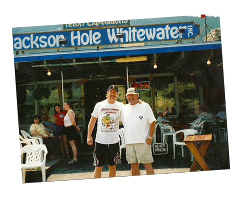 James Hetfield at Jackson Hole Whitewater