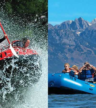 Jackson Hole adventure packages