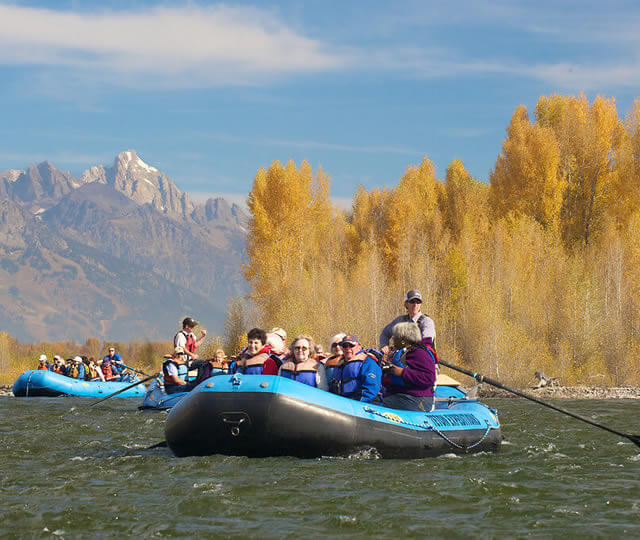 Snake River group trips