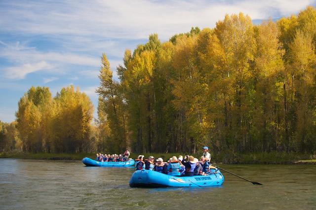 Ecenic Floats Snake River