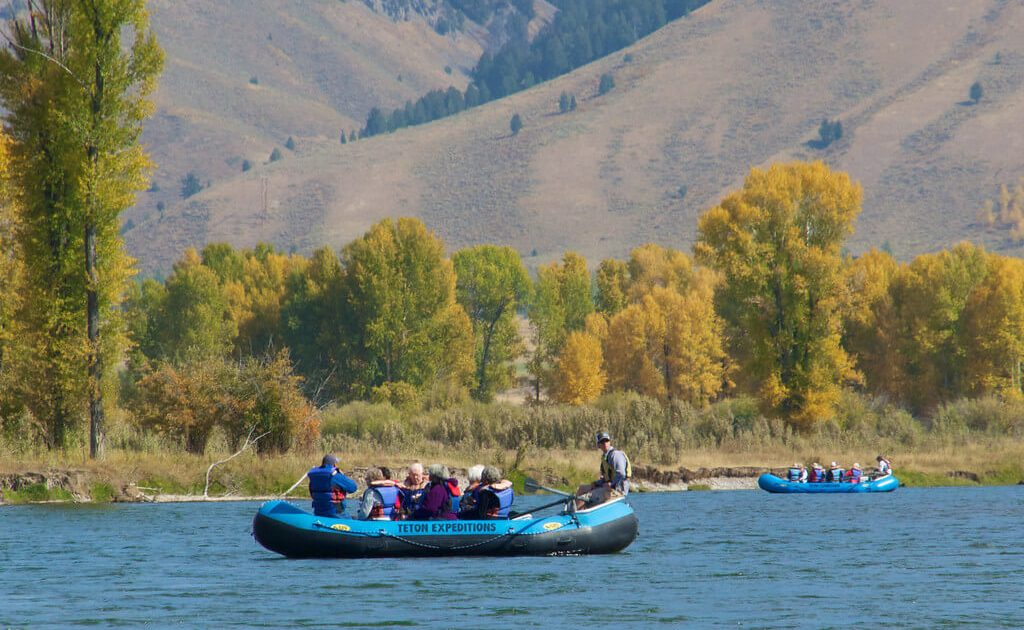 Jackson Hole scenic float