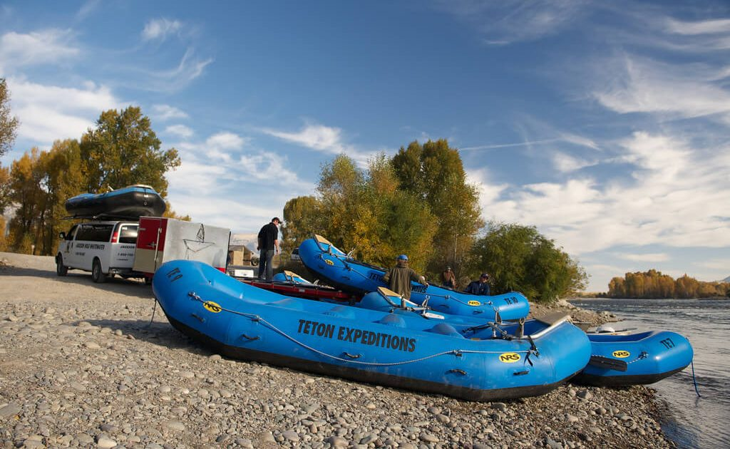 teton Expeditions boats