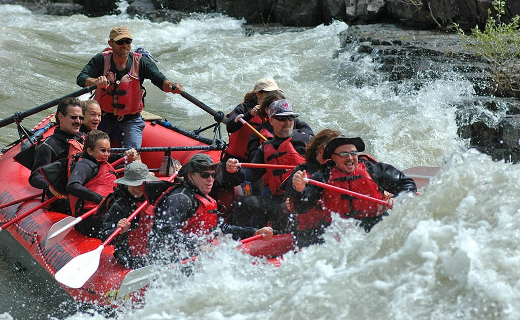 8-mile whitewater trip on Snake River