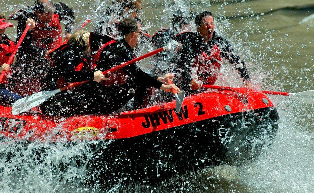 8-mile Snake River whitewater trip