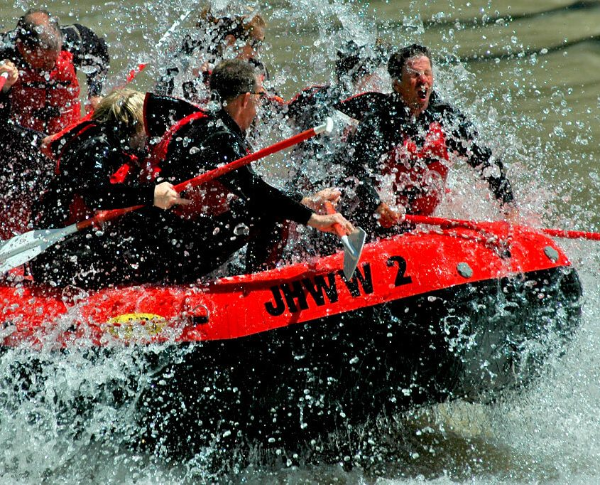 8-mile Snake River whitewater trip