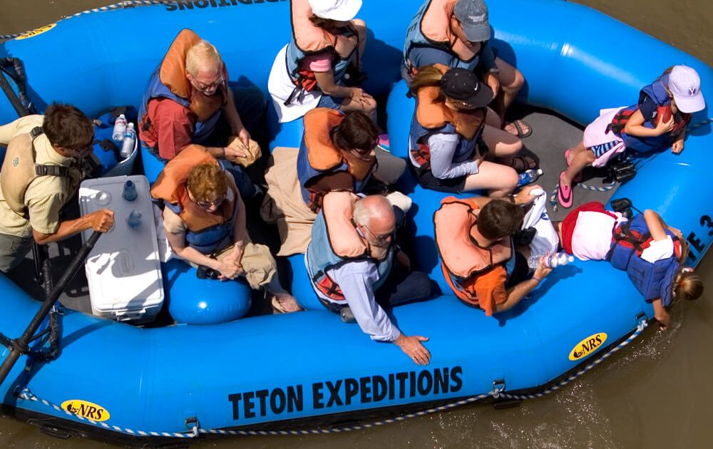 Teton Expeditions float trip